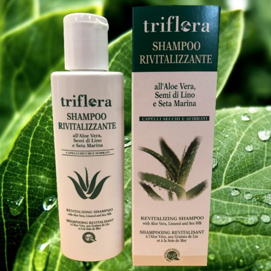 Shampo-rivitalizzante-all'aloe-vera,-semi-di-lino-e-seta-marina-vegetale-naturale-ecologica-biologica-triflora-srl