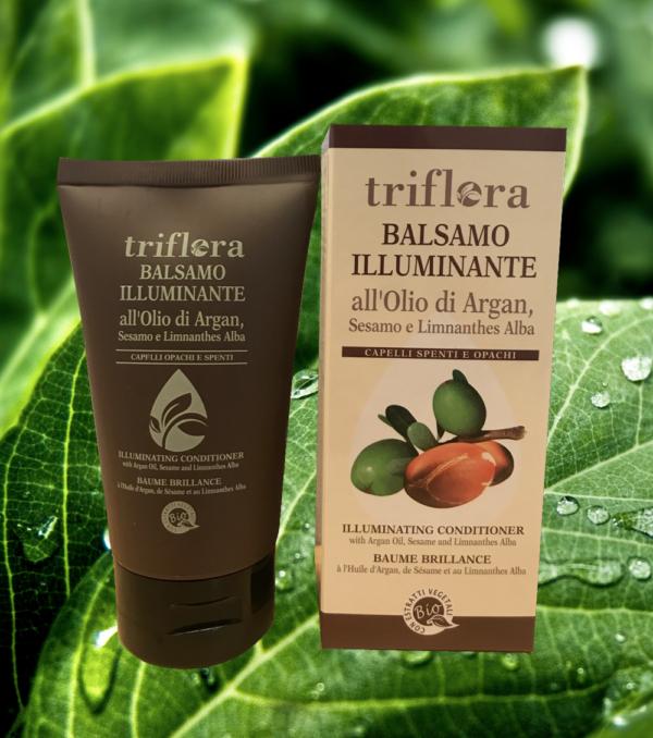 Balsamo-illuminante-all'olio-di-argan,-sesamo-e-limnanthes-alba-vegetale-naturale-ecologica-biologica-triflora-srl